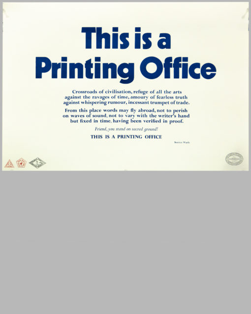 This is a Printing Office 1
