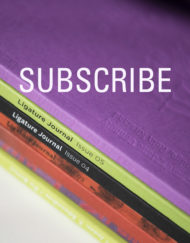 Ligature Journal two issue subscription